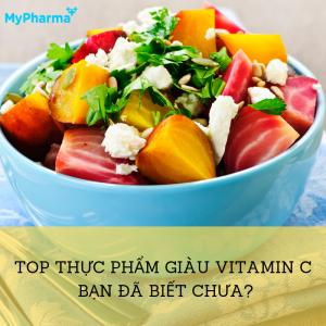 12 loại thực phẩm tốt nhất giàu vitamin C