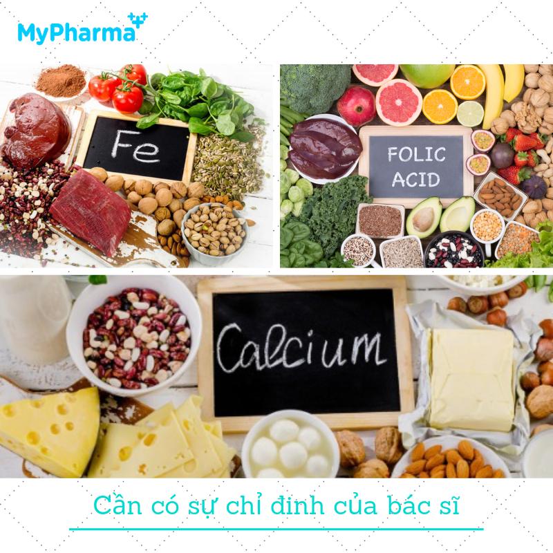 vitamin trước khi sinh