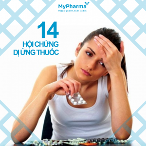Dấu hiệu 14 hội chứng dị ứng thuốc