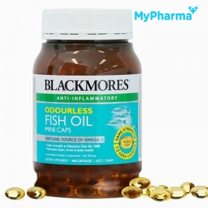 BLACKMORES ODOURLESS FISH OIL MINI CAPS