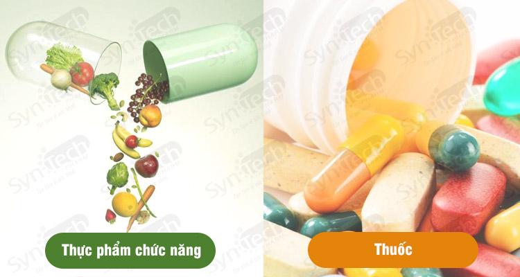 thực phẩm chức năng và thuốc