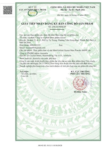 TPBVSK - Lalisse oyster max powder 4000 100v