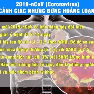 2019-nCoV (Virus Vũ Hán) – Cảnh giác nhưng đừng hoảng loạn