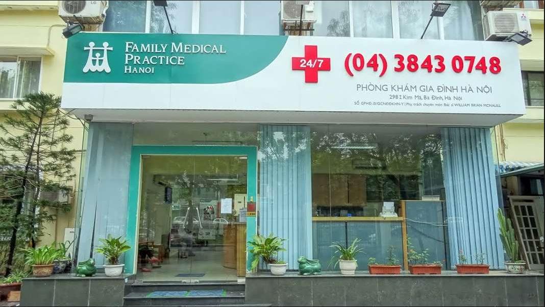 Top 10 phòng khám nhi tốt nhất ở Hà Nội: Phòng khám Family Medical Practice của bác sĩ Collin