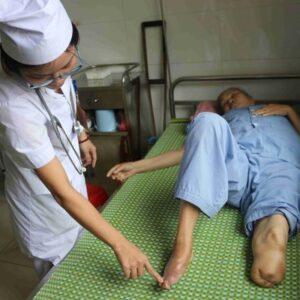 Cứ 30s lại có một người bị cắt cụt chân vì biến chứng tiểu đường
