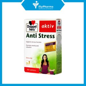 TPBVSK: Anti Stress - Hoạt huyết, bổ não, giảm stress