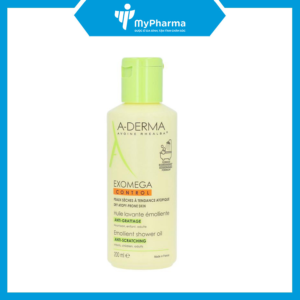Aderma Exomega Control Shower Oil