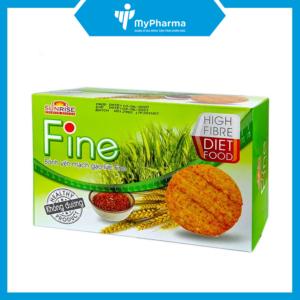 Bánh ăn kiêng yến mạch gạo lứt Fine