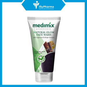 SRM Medimix Natural Glow Face Wash (With Sugarcane & Ginger Extracts)