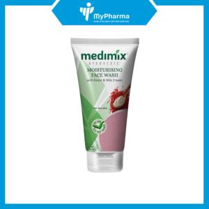 SRM Medimix Moisturising face Wash (With Kesar & Milk Cream)
