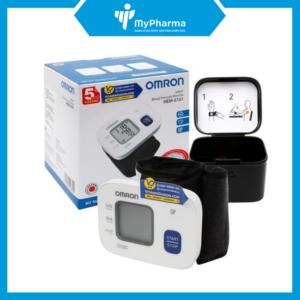 Máy đo huyết áp cổ tay tự động Omron HEM 6161