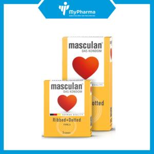 BCS Masculan Ribbed + Dotted