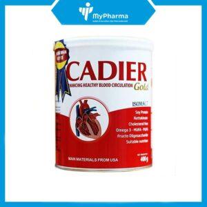 sữa tiểu đường, tim mạch Cadier Gold 400g