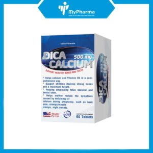 Dica calcium500mg bổ sung canxi
