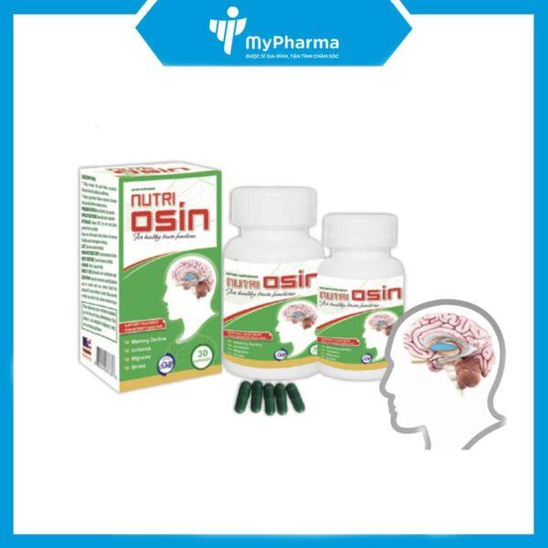 Nutri osin - Hết đau đầu, hoa mắt, cải thiện trí nhớ