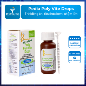 Pedia Poly Vite Drops