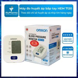 Máy đo huyết áp bắp tay HEM 7120
