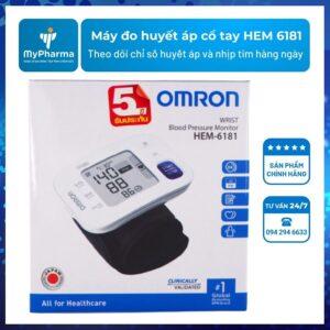 Máy đo huyết áp cổ tay HEM 6181