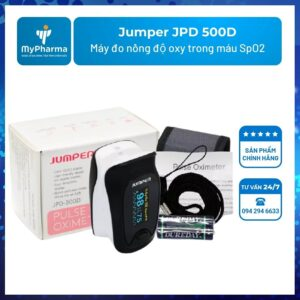 Máy đo nồng độ oxy trong máu SpO2 Jumper JPD 500D