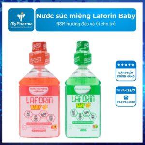 Nước súc miệng Laforin Baby