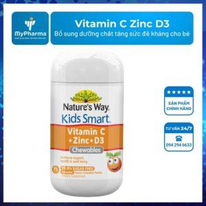 Nature's Way Kids Smart Vitamin C Zinc D3