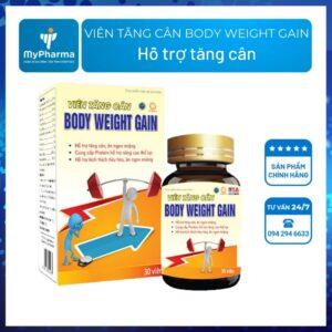 Viên tăng cân body weight gain