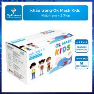 khẩu trang Ok Mask Kids