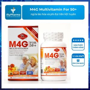 M4G Multivitamin For 50+