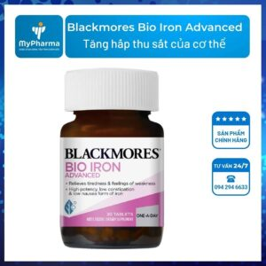 blackmores bio iron advanced